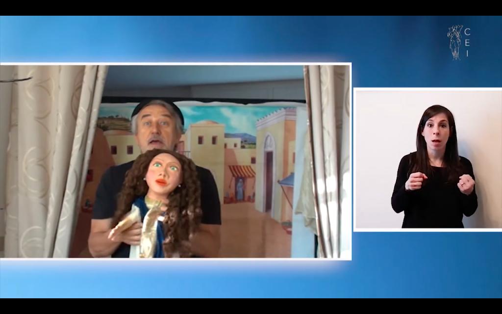 La Sesta Domenica di Pasqua: Marco Tibaldi la racconta ai bambini con il teatro dei burattini