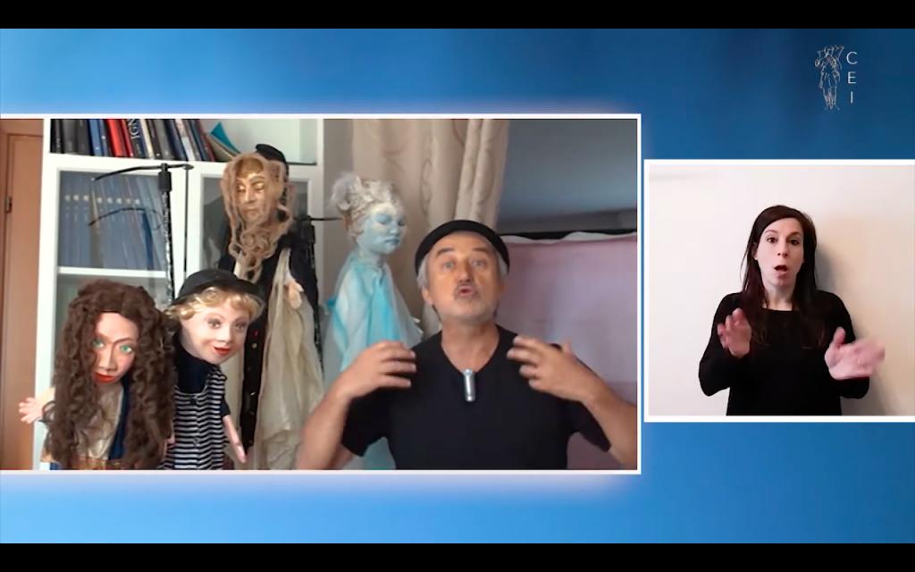 La Solennità dell'Ascensione: Marco Tibaldi la racconta ai bambini con il teatro dei burattini