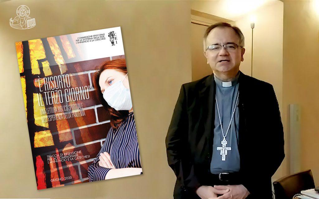 Video presentazione di S.E. Mons. Erio Castellucci, Arcivescovo di Modena Nonantola e Presidente della Commissione Episcopale per la Dottrina della Fede, l'Annuncio e la Catechesi.